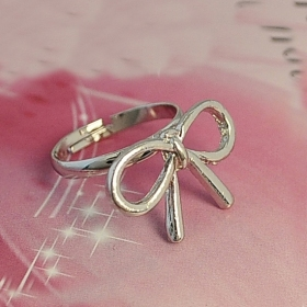 Cute Simple Hollowed Butterfly Unique Band Rings for Women