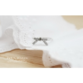 Chic Elegant Bling Butterfly Pave Diamond Band Rings