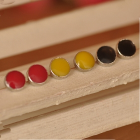 Vintage Fashion Cadny colors Elegant Stud Earrings with Beads