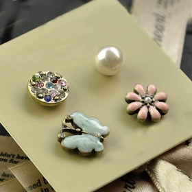 Fashion Jewelry Tiny Stud Earring Sets