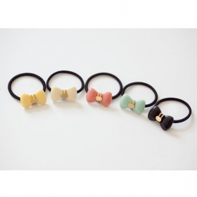 Lovely Candy Style Butterfly Knot Ponytail Holders