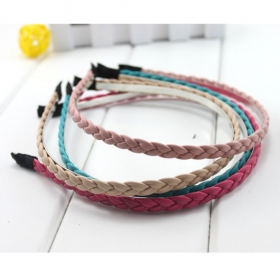 Perfect PU Knitting Braid Handmade Headbands