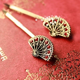 Chinese Vintage Style Classic Fan Hair Claw