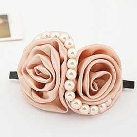 Korea Style Fashion S Shape Big Flower Hair Clip Hair Clips Hair Accessories