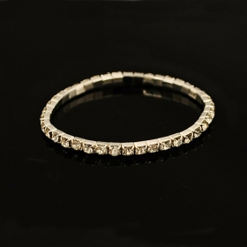 Korea Modern Fashion Rhinestone Bling Tennis Bracelet