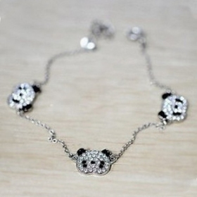 Korean Fashion Lovly Bear Charm Bracelet