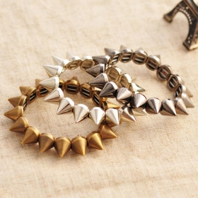 Punk Style Vintage Clinch Bangle Bracelets