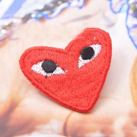 Red Heart Pin Brooch for Men/Ladies