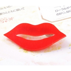 Personalized Sexy Red Lip Ladies' Brooch