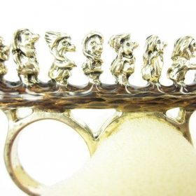 Lovely Seven Dwarfs costume Ring