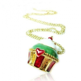 Sweet Cake Lovely Lacket Necklace for Women