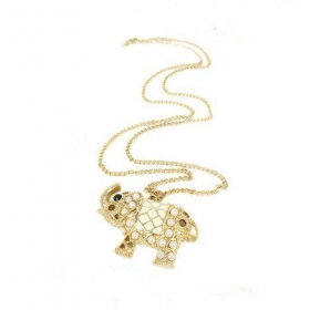 National Style Elephant Chain Necklace