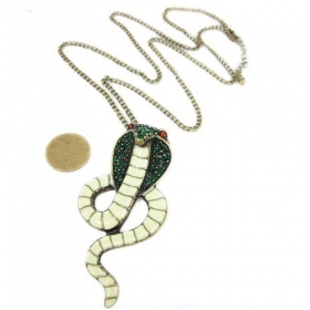 Bold Fashion Snake Shape Animal Chain Necklace