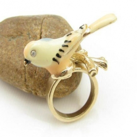 Chic Lovely Bird Band Ring