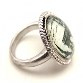 Romantic Design Cocktail Ring