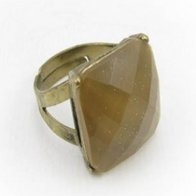 Adustable Vintage Cocktail Ring