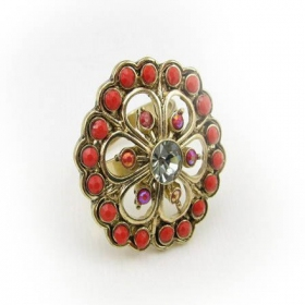Fashionable Classical Large Cocktail Ring