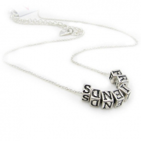 Simple Fashion Letters Chain Necklace