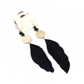 Bold Fashion Feather Earrings