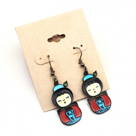 Fashion Japanese Girl's Baby Dangle Earrings