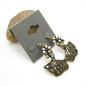 Vintage Dance Dangle Earrings