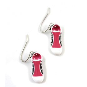 Lovely Shoes Multicolor Diamond Shine Alloy Drop Earring