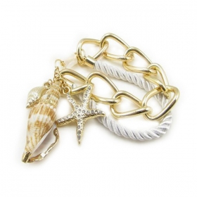 Fashion Conch Charm Bracelets