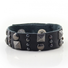 Punk Style Fashion Leather Bangle Bracelets