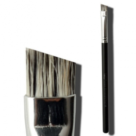 Angled Natural Wool Brow/Eyeliner Brush