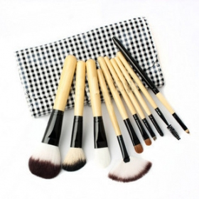 10 Pcs Precision Professional Brush Set With Free Case