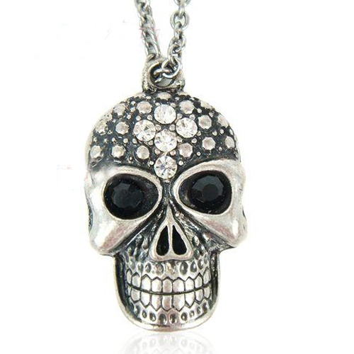 Bold Fashion Skull Chain Necklace
