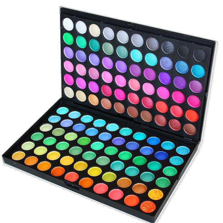 Colorful 120 Colors Makeup Eye Shadow Palette Including