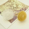 Lovely Chic Dandelion Big Flower Fashion Rings
