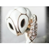 Fashion Elegant White Cute Snake Animal Rings for Women