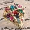 Fashion Bling Rhinestone Huge Cocktail Rings