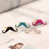 Vintage Lovely Beard Shape Band Ring For Ladies