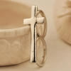 Vintage Personalized Gold Plated Alloy Band Ring