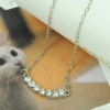 Fashion Ladies' Chic Elegant Rhinestone Choker Necklace