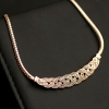 Simple Fashion Crystal Jewelry Choker Necklace