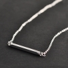 Simple Fashion OL Style One Shape Pendant Chain Necklace