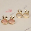Elegant Cute Rabbit Stud Earrings for Girls