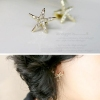 Chic Jewelry Ladies' Starfish Rhinestone Stud Earrings