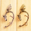 Punk Style Vintage Personalized Dragon Shape Stud Earrings
