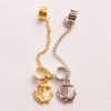 Fashion Anchor Tassel Clip Drop Earring For Women