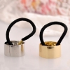 European Fashion Bling Metal Knot Ponytail Holders