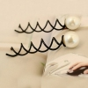 Simple Korean Pearl Spiral Style Hair Pins