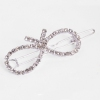 Fashion Silver Bowknot Shape Hair Clip