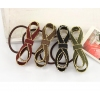 Fashion Leather Bowknot Ponytail Holder