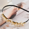 Korea Style Lovely White Pearl Headband