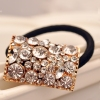 Exquisite Hollowed Rhinestone Ponytail Holder